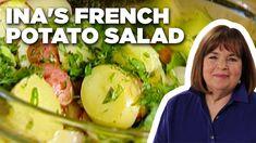 Ina Garten's French Potato Salad   Barefoot Contessa   Food Network - YouTube Herbed Potato Salad, French Potato Salad, French Potatoes, Potato Pasta, Potato Dishes, Potato Recipes, Potato Ideas, Fresh Tomato Soup, Fresh Tomato Recipes