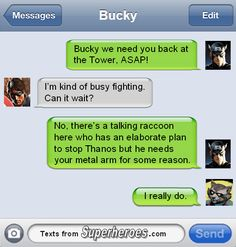 Here we bring you some of the hilarious Marvel superhero text memes which will explain how funny they can be when they text each other. Marvel Funny, Marvel Memes, Marvel Quotes, Superhero Texts, Texts From Superheroes, Avengers Texts, Marvel Avengers, Marvel Comics, Dc Movies