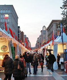 I know what I'm doing next year... America's Best Christmas Markets: Downtown Holiday Market, Washington, D.C.