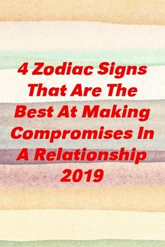 4 Zodiac Signs That Are The Best At Making Compromises In A Relationship 2019 by classurban. Relationship Sayings, Gq, Zodiac Signs, Good Things, Star Constellations, Horoscopes, Zodiac Mind