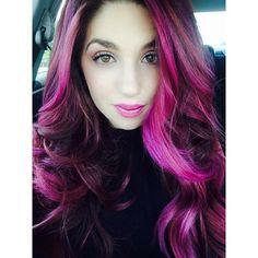 2016 Hair Color Trend - purple