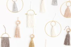 Sculptural wall hangings and accessories handmade in Los Angeles by Cindy Zell
