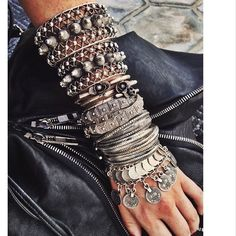 Natalie b nomad silver coin necklace/anklet Boot Jewelry, Chunky Jewelry, Tribal Jewelry, Jewelry Art, Fashion Jewelry, Jewelry Design, Silver Jewelry, Silver Rings, Jewellery