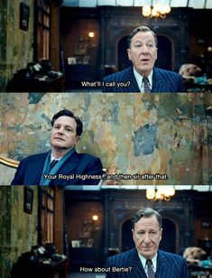 The King's Speech. All-time incredible movie, if you're a Speech-Language Pathologist at least.