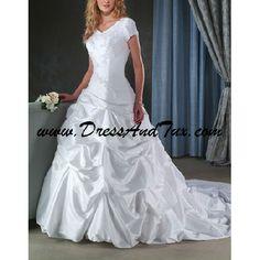 lds wedding ball gowns