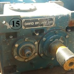 David Brown gear reducer supplier worldwide | New David Brown AH1 180 Speed Reducer for sale - Savona Equipment