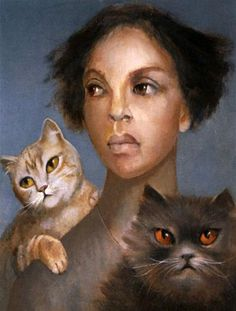 Leonor Fini (1907 - 1996)pintora surrealista argentina