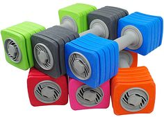 SportBell Adjustable Dumbbells - Choice of Colors
