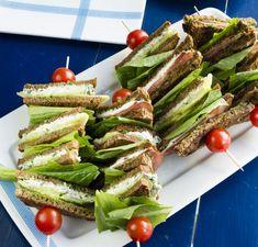 Small sandwichies/Minisandwichit vartaissa