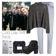 """""""Cold Day With 5sos"""" by hana-69 ❤ liked on Polyvore featuring moda, Cheap Monday y Eddie Borgo"""