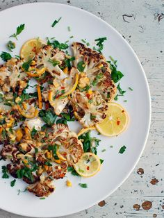 Roasted Cauliflower Steaks with Meyer Lemon Relish http://www.ivillage.com/cauliflower-new-it-veggie-try-these-recipes/3-a-562167