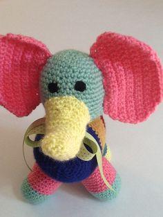 Toy elephant, stuffed toy, stuffed elephant, zoo animals, jungle animals by TheNanimalShop on Etsy