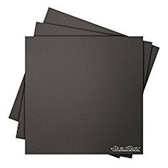 Go to http://discounted-3d-printer-store.co.uk/buildtak-bt45x45-3pk-3d-printing-build-surface-45-x-45-114-mm-x-114  to review BuildTak BT45X45-3PK 3D Printing Build Surface, 4.5' x 4.5', 114 mm x 114 mm, Square, Black (Pack of 3)