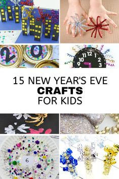 15 New Year's Eve Crafts for Kids | Kara's Party Ideas