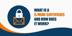 S/MIME certificates are usually referred to as email signing certificates or personal authentication certificates Cyber Security Awareness, Does It Work, Certificate, Tech Companies, Company Logo, Chart, Logos, Logo