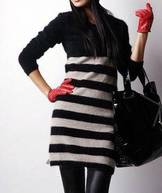 New genuine mink cashmere sweater women pure mink fur cashmere Pullovers sweater…