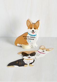 This corgi calendar ($13). | 27 Outrageously Cute Gifts That Everyone Will Want