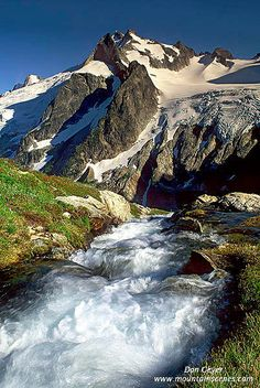 Dome Peak   Dome Peak above the outlet stream from White Roc…   Flickr