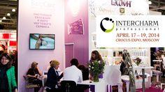 International Cosmetic InterCHARM Professional 2014, 17-19.04.2014r, Moscow, Russia.