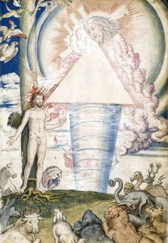 Francisco de Holanda, The Creation of Man, De Aetatibus Mundi Imagines, 16th century