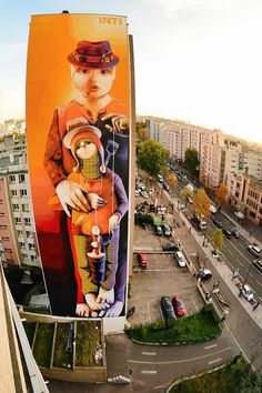 Inti, France #uniquestreetart #greatstreetartists #freewalls #graffitiart #art #urbanartists #streetart #inti