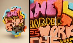 25 Creative Typography art works and Typography Illustrations | Read full article: http://webneel.com/typography-art | more http://webneel.com/typography | Follow us www.pinterest.com/webneel