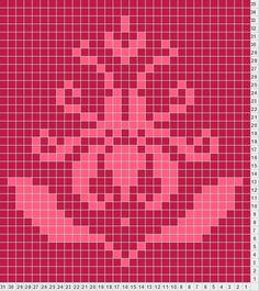 Brocade colorwork pattern