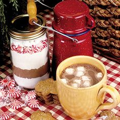Heartwarming Gifts from the Kitchen  | Candy Cane Hot Chocolate Mix | MyRecipes.com