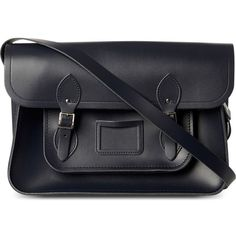 """THE CAMBRIDGE SATCHEL COMPANY The Classic leather satchel 15"""" found on Polyvore"""