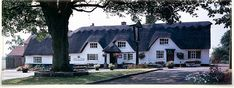 Great pub, great food - The Pheasant at Keyston. Old thatched inn. I love this place.