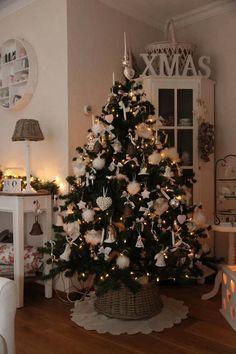 White Christmas, Christmas Home, Xmas, Christmas Trees, Christmas Decorations, Holiday Decor, Favorite Holiday, Wonderful Time, December