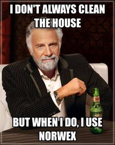 I don't always clean the house, but when I do I use Norwex.  www.naturalhomecleaning.ca