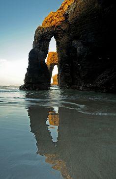 Magic reflection, northern Spain