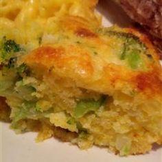 Sweet Onion Broccoli Cornbread