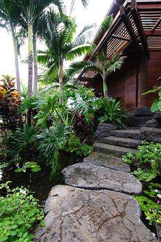 Tropical Garden!