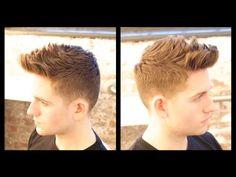 Male Model Haircut Tutorial - TheSalonGuy