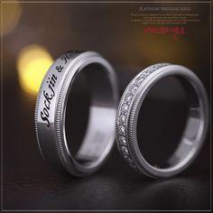 엔조 웨딩커플링 - ENZO 2PR113, 2PR217 Wedding couple ring / Pt950