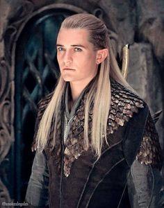 Legolas aus Heer der Ringe und dem Hobbit