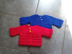 Lolly's Crafty Crochet: Free Pattern: Chunky Monkey Cardigan