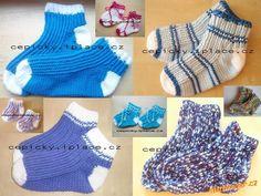 Na žádost několika maminek vkládám návod na háčkované ponožky, na návod jsem se inspirovala z návodu... Crochet Socks, Crochet Yarn, Knit Crochet, Yarn Images, Christmas Stockings, Needlework, Slippers, Knitting, Women
