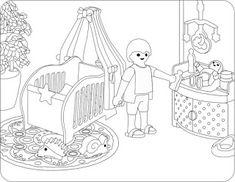 Playmobil Zum Ausmalen 3 Basteln Pinterest Playmobil Und