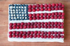 Tackling this ambitious three-layer flag sheet cake is worth the impressive results for your 4th of July barbecue or picnic. This beautiful red, white and blue...