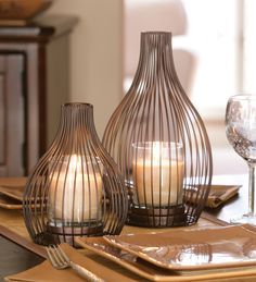 Adding candlelight to the dinner table can instantly make any occasion feel like a special one!