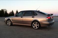 2001 Saab Viggen 4 door. Steel Gray - Paul Campagna