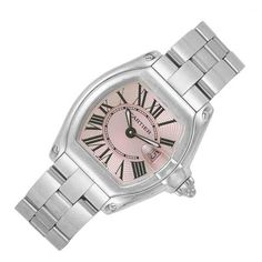 Lady's Stainless Steel Wristwatch, Cartier for Sale at Auction on Wed, 09/21/2011 - 07:00  - Important Estate Jewelry | Doyle Auction House