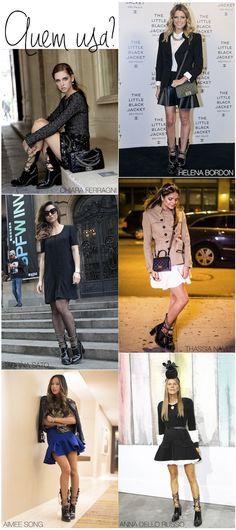 Chanel chain boots inspired - Schutz - Drops das Dez