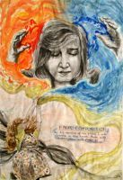 GCSE ART YEAR 11: Final Idea, Confliction by DaintyStain