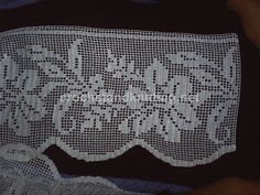 crochet lace edge by Crochet Knitting, via Flickr