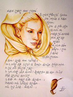 Намариэ. Галадриэль namarie by icy-maiden on DeviantArt