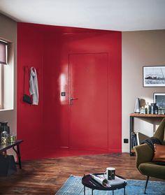 Créer une entrée avec un aplat de couleur (ici, finition laquée).